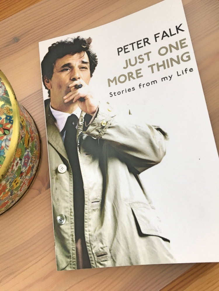 Peter Falk Buch Just One More Thing